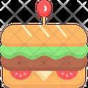 Sandwich Subway Footlong Icon