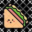Sandwich Cheese Ham Icon