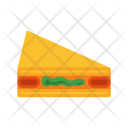 Sandwich Bread Vegetarian Icon
