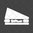 Sandwich Bread Cafe Icon