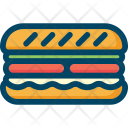 Sandwich Food Eat Icon