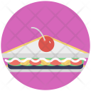Sandwich Food Snakes Icon