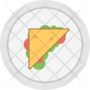 Sandwich Bread Snack Icon