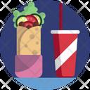 Food Sandwich Juice Icon