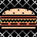 Sandwich Kitchen Cooking Icon