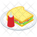 Sandwich Platter Vector Icon