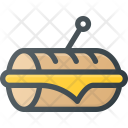 Sandwitch Fast Food Icon