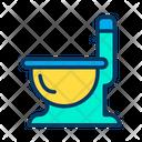 Toilet Commode Toilet Tub Icon