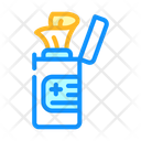 Sanitary Wipes Package Icon