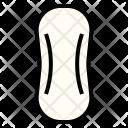 Sanitary Napkin Pad Icon