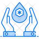 Sanitation Water Care Water Safety Icon