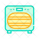 Sanitation Oven Color Icon