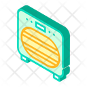 Sanitation Oven Isometric Icon