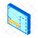 Sanitation Room Isometric Icon