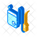 Sanitation Equipment Isometric Icon