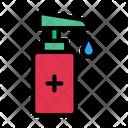 Soap Bottle Drop Icon