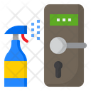 Sanitize On Door Icon