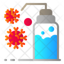 Washing Corona Virus Sanitizer Icon