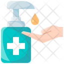 Hygiene Soap Hand Icon