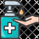 Hygiene Soap Hand Icon