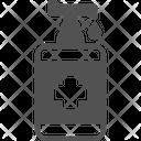 Gel Antiseptic Sanitizer Icon
