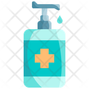 Gel Antiseptic Sanitizer Icon