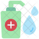 Hand Sanitizer Water Drop Icon