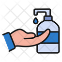 Sanitizer Handsanitizer Hand Icon