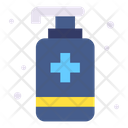 Sanitizer Hand Sanitizer Alcohol Gel Icon