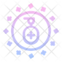Sanitizer Clean Stay Home Icon