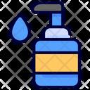 Sanitizer Disinfectant Hygienic Icon