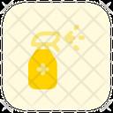 Sanitizer Bottle Sanitizer Disinfectant Spray Icon