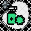 Sanitizer Bottle Sanitizer Hygiene Icon