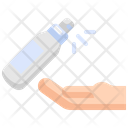 Spray Alcohol Hand Icon