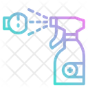 Spray Clean Alcohol Icon