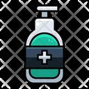 Sanitizing Bottle Icon