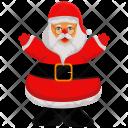 Santa Claus Holyday Icon