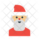 Santa Clause Character Icon
