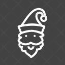 Santa Claus Chrsitmas Icon