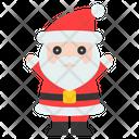 Santa Santa Claus Xmas Icon