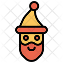 Santa Claus Christmas Xmas Icon