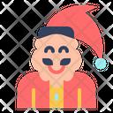 Santa Antediluvian Man Icon