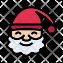 Santa Clause Christmas Icon
