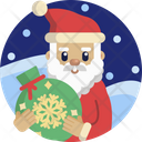 Christmas Santa Gift Icon