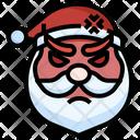 Santa Angry Angry Santa Icon