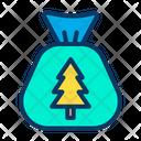 Santa Bag Icon
