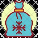 Christmas Sack Christmas Bag Gifts Sack Icon