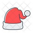 Cap Of Santa Cap Christmas Icon