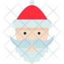 Santa Claus Holiday Merry Icon