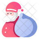Santa Claus Gift Bag Gifts Icon